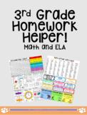 At-Home Learning Helper 3rd Grade!! (ELA & MATH)