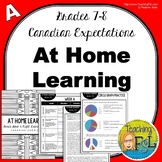 At Home Learning Lessons - Gr 7/8 - Week A