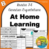At Home Learning Lessons - Gr 7/8 - Week B
