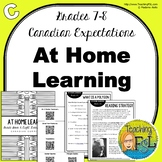 At Home Learning Lessons - Gr 7/8 - Week C