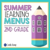 Distance Learning At-Home Activity Menus & Parent Letter-S