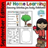 At Home Learning Pack-September Edition
