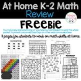 At Home Math Review K-2