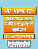 At-Home PE: ALL 32 GAMES!