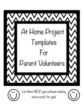 At Home Parent Volunteer Templates
