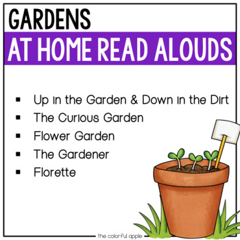 At Home Read Alouds: Gardens