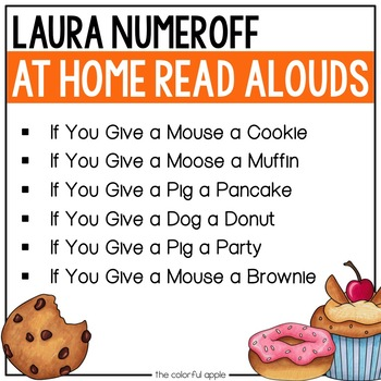 At Home Read Alouds: Laura Numeroff