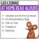 At Home Read Alouds: Leo Lionni