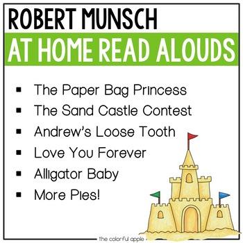 At Home Read Alouds: Robert Munsch