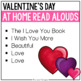 At Home Read Alouds: Valentine's Day