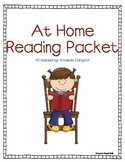 At Home Reading Packet for Guided Reading and Leveled Readers