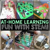 At Home STEM Challenges Distance Learning | STEM Google Cl