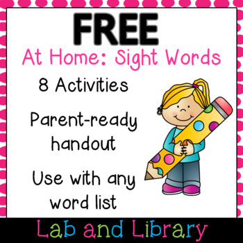 At Home: Sight Word Activities