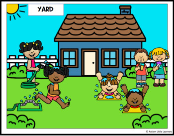 At Home Speech Therapy Picture Scenes for Little Learners ...