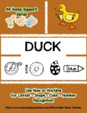 At Home Support - DUCK   Preschool Based Curriculum Resour