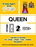 At Home Support - QUEEN  Preschool Based Curriculum Resour