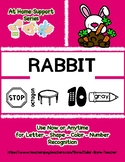 At Home Support - RABBIT  Preschool Based Curriculum Resou