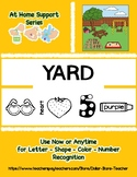 At Home Support - YARD - Preschool Based Curriculum Resour