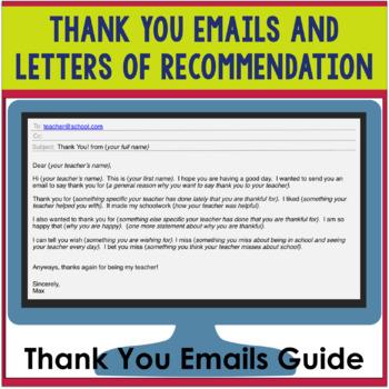 Thank You Email Letter Of Recommendation from ecdn.teacherspayteachers.com