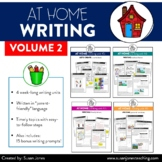 At Home Writing for Distance Learning (VOLUME 2) | Digital