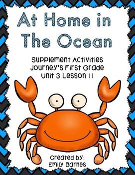 At Home in The Ocean 1st Grade 2014 Supplement Activities