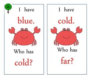 At Home in the Ocean I Have Who Has (Journeys Common Core Reading Series)