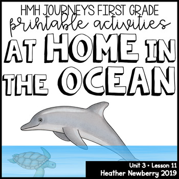 At Home in the Ocean: Journeys 1st Grade (Unit 3, Lesson 11)