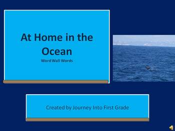 At Home in the Ocean (Journeys Common Core Reading Series)