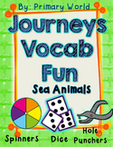 Sea Animals Journeys First Grade Unit 3 Lesson 11 Vocabulary