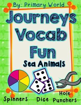 Sea Animals Journeys First Grade Unit 3 Lesson 11 Vocabulary