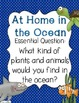 At Home in the Ocean Journeys Lesson Plans and Supplemental Materials
