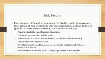 At Risk Populations