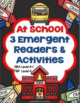 At School: 3 Emergent Readers
