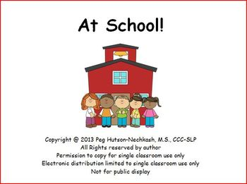 At School! An Interactive Book about the School Day