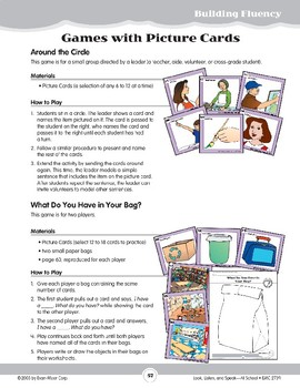 At School: Games with Picture Cards