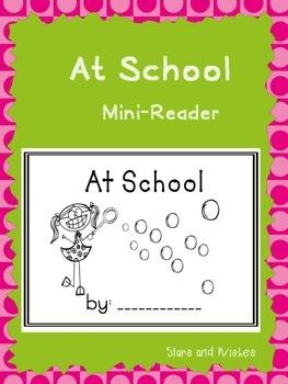 At School Mini-Reader