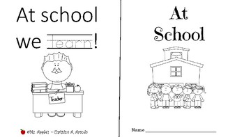 At School Mini Tracing Book