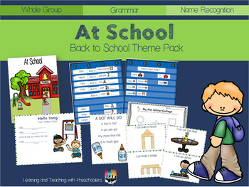 At School Theme Pack