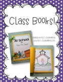 Kindergarten Writing Class Books {freebie}