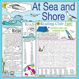 At Sea & Shore: Vocabulary-Rich Puzzle Pack + Bonus Campin