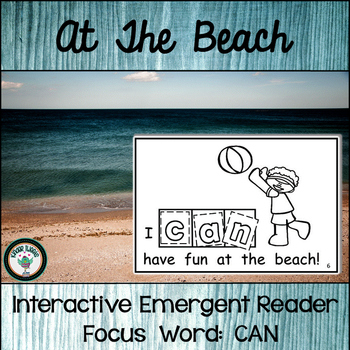 At The Beach:  Interactive Emergent Reader for the Sight W