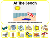 At The Beach--an Adapted Interactive Book {Autism & Early Childhood}