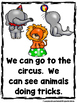 At The Circus  (A Sight Word Emergent Reader and Teacher L