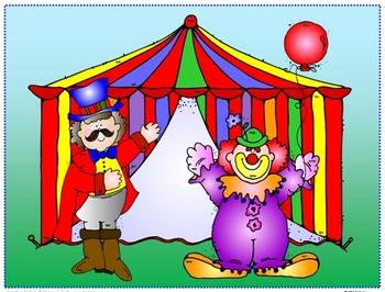 At The Circus, I Spy Tiny Little CVC and CVCe words