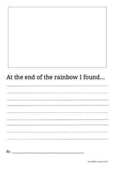 At The End Of The Rainbow Writing Prompt