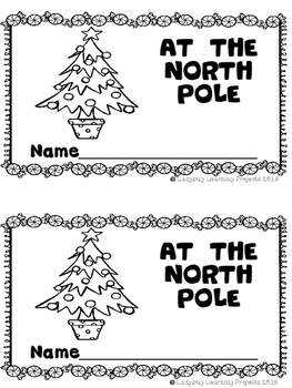 At The North Pole (A Sight Word Emergent Reader and Teacher Lap Book)