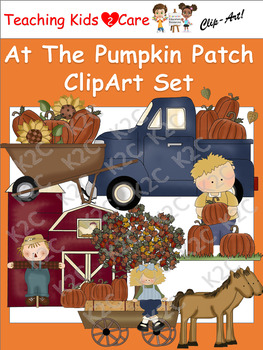 At The Pumpkin Patch ClipArt Set
