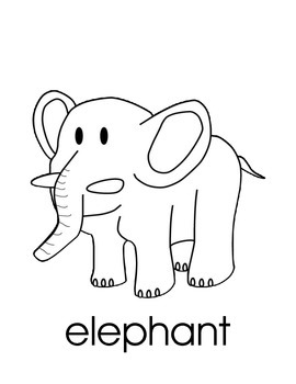 Zoo (Summer At the Zoo) - 11 Animals, Coloring Pages, Sight Words & Worksheets