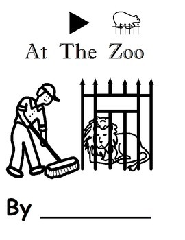 At The Zoo Color and Dot Book