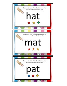 At Word Family Phonemes Crack the Code Chant and Cards